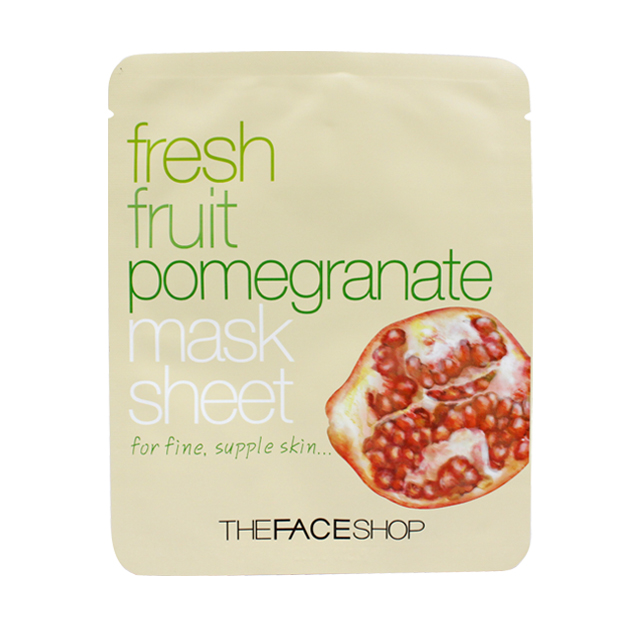 Fresh Fruit Pomegranate Mask Sheet